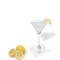 Margarita serviert im Martiniglas
