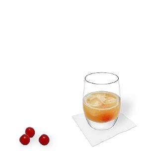 Tumbler Gläser eignen sich am besten für Amaretto Sour.