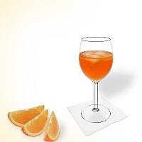 Aperol Spritz im Weinglas