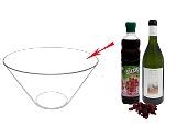 Beerenbowle Zubereitung: Mischen