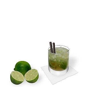 Caipirissima ist Caipirinha mit Wodka anstatt Cachaça.
