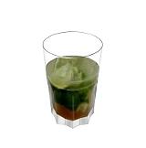 Caipirissima Zubereitung: Weissen Rum und Rohrzucker dazugeben