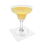 Frozen Mango Margarita Zubereitung: Servieren