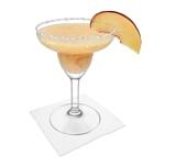 Frozen Peach Margarita Zubereitung: Servieren