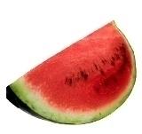 Frozen Watermelon Margarita Zubereitung: Wassermelone zubereiten