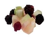 Früchtebowle Zubereitung: Früchte Zubereiten