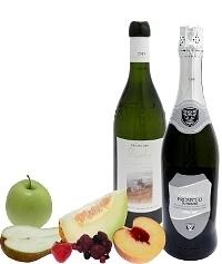 Früchtebowle Zutaten: Standard