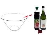 Himbeerbowle Zubereitung: Mischen