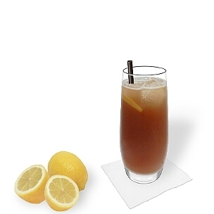Long Island Ice Tea ist ein Party Drink mit viel Alkohol.