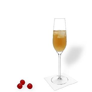 Ohio serviert man in Champagner- oder Weingläser ohne Dekoration.