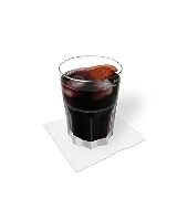 Rotwein Cola Zubereitung: Mischen und servieren