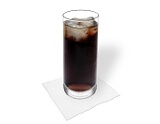 Rum Cola Zubereitung: Servieren