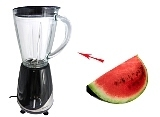 Watermelon Margarita Zubereitung: Mixen